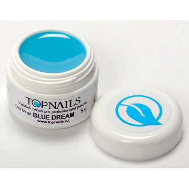 Topnails UV Gel barevný Full 5g Blue dream
