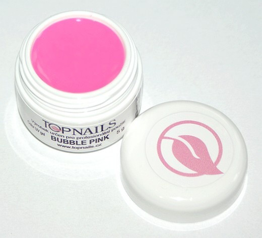 Topnails UV Gel barevný Full 5g Bubble pink