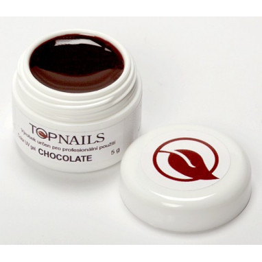 Topnails UV Gel barevný Full 5g Chocolate