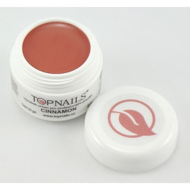 Topnails UV Gel barevný Full 5g Cinnamon