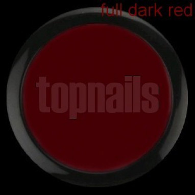 Topnails UV Gel barevný Full 5g Dark red