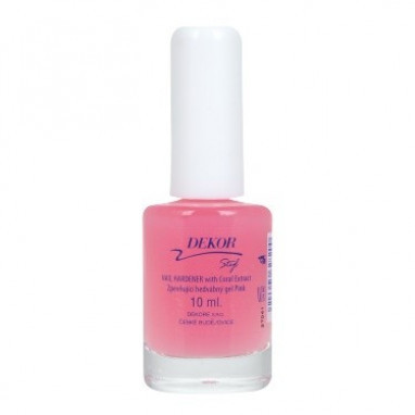 Dekor péče Nail Hardener with Coral Extract 10ml