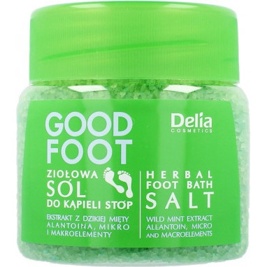 Delia Cosmetic Good Foot  Sůl bylinná 570g