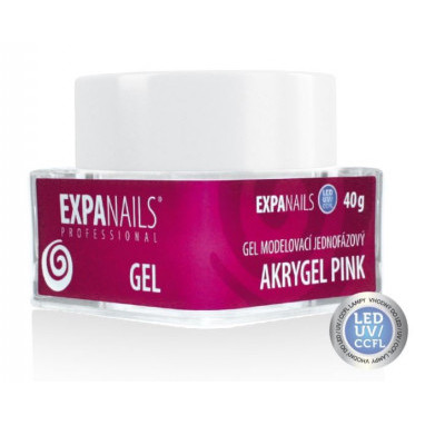 Expa Nails Acrygel Gel Pink 40ml