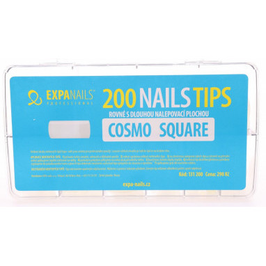 Expa Nails Box tipů 200ks Cosmo square