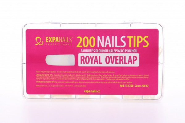 Expa Nails Box tipů 200ks