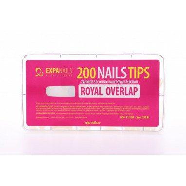 Expa Nails Box tipů 200ks Royal overlap