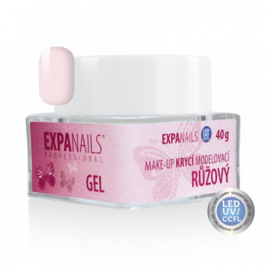 Expa Nails UV Gel Nehtový Make-up růžový 10g