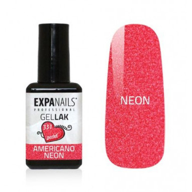 Expa Nails Gel lak Red collection 7ml Americano neon