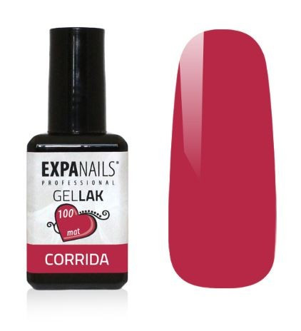 Expa Nails Gel lak Red collection 7ml Corrida