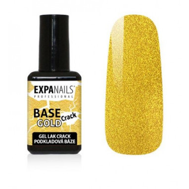 Expa Nails Gel lak Crack Base 7ml Gold