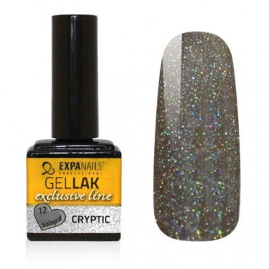 Expa Nails Gel lak Exclusive 7ml Cryptic holograf 12