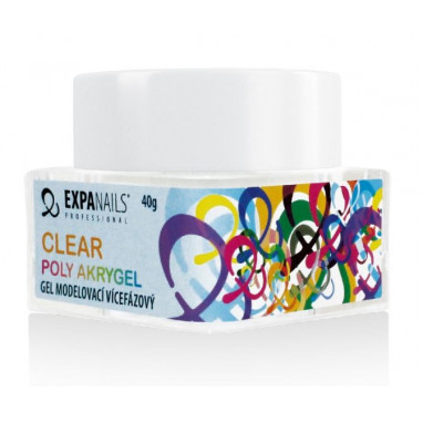 Expa Nails Poly Akrygel Clear 10g