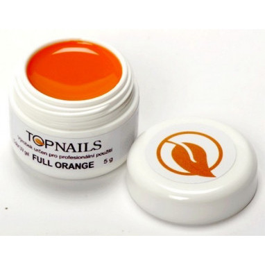 Topnails UV Gel barevný Full 5g Orange