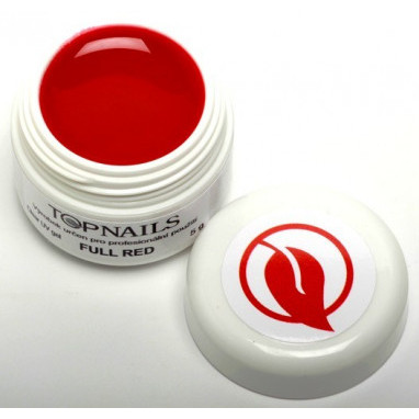 Topnails UV Gel barevný Full 5g Red