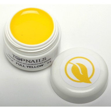 Topnails UV Gel barevný Full 5g Yellow