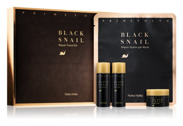 Holika Holika Prime Youth Black Snail Repair Travel Kit