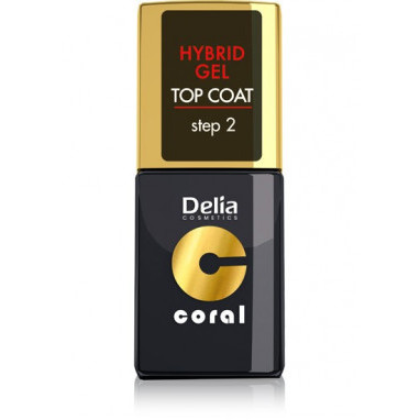 Delia Cosmetic Lak Hybrid Top Coat 11ml