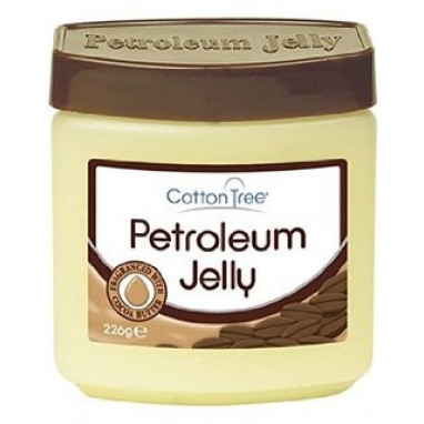Cotton Tree Petroleum Jelly Cocoa Butter petrolejová mast 226 g