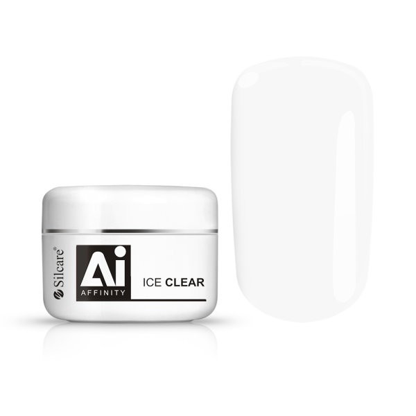 Silcare Gel UV Affinity Ice clear 100g