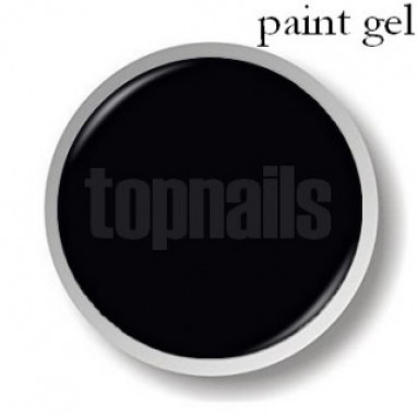 Topnails UV Gel Paint 5g Black