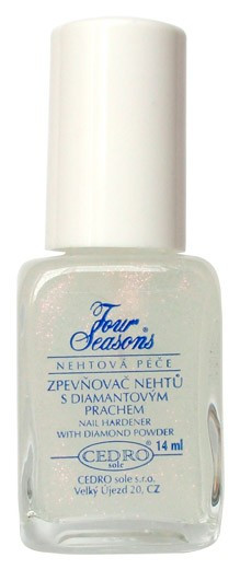 Four Seasons Zpevňovač nehtů s diamantovým prachem 14ml